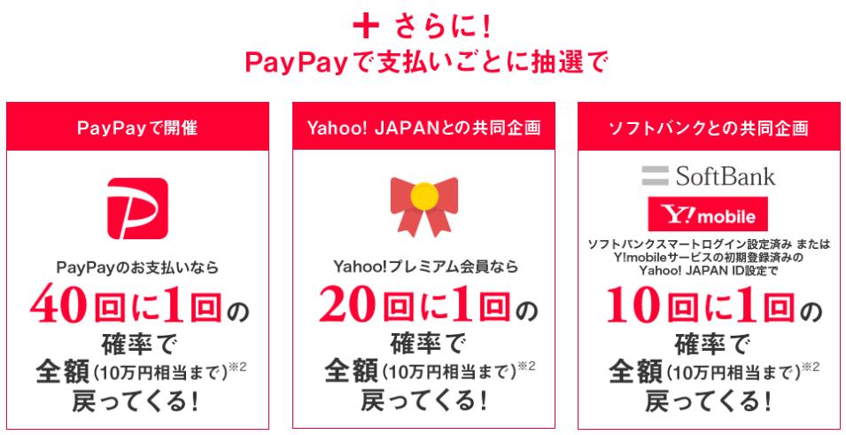 PayPay抽選キャンペーン